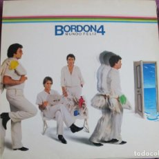 Discos de vinilo: LP - BORDON 4 - MUNDO FELIZ (SPAIN, EMI ODEON 1984). Lote 169688156