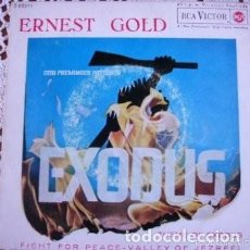 Discos de vinilo: EXODUS ERNEST GOLD EP 1962. Lote 169694608