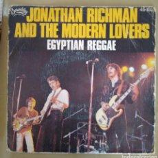 Discos de vinilo: JONATHAN RICHMAN AND THE MODERN LOVERS - EGYPTIAN REGGAE. Lote 169700305