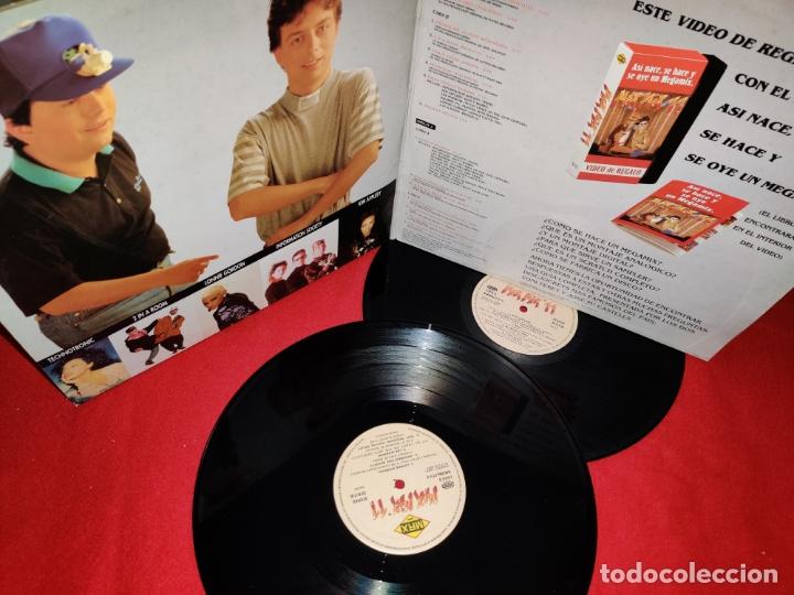 Discos de vinilo: MAX MIX 11 2LP 1991 MAX GATEFOLD SPAIN ESPAÑA RECOPILATORIO DANCE KIM APPLEBY+2 IN A ROOM+ETC - Foto 2 - 169703940