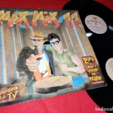 Discos de vinilo: MAX MIX 11 2LP 1991 MAX GATEFOLD SPAIN ESPAÑA RECOPILATORIO DANCE KIM APPLEBY+2 IN A ROOM+ETC. Lote 169703940