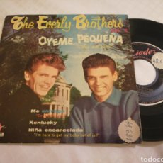 Disques de vinyle: EVERLY BROTHERS EP OYEME, PEQUEÑA + 3 ESPAÑA 1959. Lote 169704713