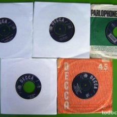 Discos de vinilo: LOTE 5 SINGLES INGLESES DE LOS 60. Lote 169704812