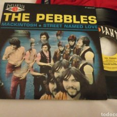 Discos de vinilo: THE PEBBLES SINGLE MACKINTOSH ESPAÑA 1969. Lote 169705236