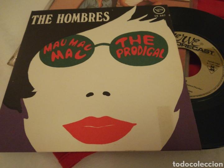 THE HOMBRES SINGLE MAU MAC MAC ESPAÑA 1968 (Música - Discos - Singles Vinilo - Pop - Rock Extranjero de los 50 y 60)