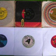 Discos de vinilo: LOTE 6 SINGLES INGLESES DE LOS 60. Lote 169705628