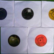 Discos de vinilo: LOTE 5 SINGLES INGLESES DE LOS 60. Lote 169706076