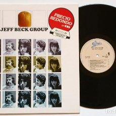Discos de vinilo: LP: JEFF BECK GROUP (EPIC, 1985) - REEDICIÓN -. Lote 169726752