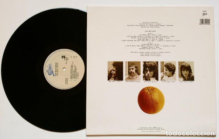 Discos de vinilo: LP: JEFF BECK GROUP (Epic, 1985) - Reedición - - Foto 2 - 169726752