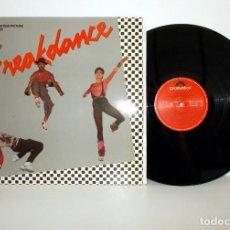 Discos de vinilo: BREAKDANCE - LP BANDA SONORA - POLYGRAM 821 919-1 ESPAÑA 1984 EX/VG++. Lote 169728044