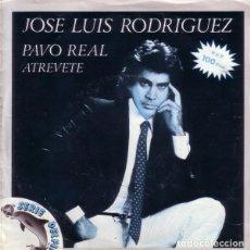 Discos de vinilo: JOSÉ LUIS RODRÍGUEZ – PAVO REAL - SINGLE SERIE DELFÍN SPAIN 1981. Lote 169728952