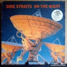 Discos de vinilo: DIRE STRAITS ON THE NIGHT 2LP INGLATERRA. CON ENCARTES.. Lote 194510013