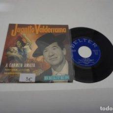 Discos de vinilo: VINILO SINGLE - JUANITO VALDERRAMA A CARMEN AMAYA 51.112-B. Lote 169735488
