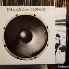 Discos de vinilo: KINGDOM COME - IN YOUR FACE. Lote 169737544