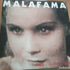 Discos de vinilo: MALA FAMA PUES CLARO TONTA .. LP OHIUKA 1993 INSERTO+PROMO HOJA (HARD ROCK). Lote 169739104