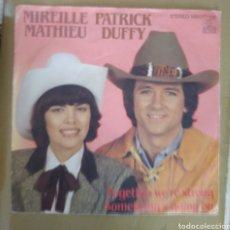 Discos de vinilo: MIREILLE MATHIEU & PATRICK DUFFY - TOGETHER WE'RE STRONG. Lote 169744033