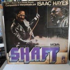 Discos de vinilo: ISAAC HAYES -BANDA SONORA DE SHAFT. Lote 169746414
