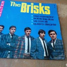 Discos de vinilo: THE BRISKS - OSO CORREDOR / SÓLO LOS DOS / VE CON EL / QUIERO DECIRTE - EP 1966 -. Lote 169746906