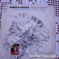 Discos de vinilo: ROBERTO CARLOS EL GATO QUE ESTÁ TRISTE Y AZUL EP 1972. Lote 169748496