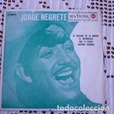 Discos de vinilo: JORGE NEGRETE EL AHIJADO DE LA MUERTE EP 1963. Lote 169748816