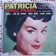 Discos de vinilo: PATRICIA PÉREZ PRADO PATRICIA EP 1958. Lote 169749080