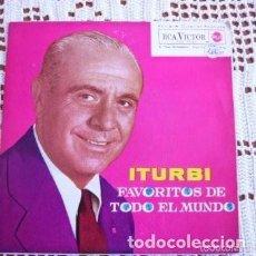 Discos de vinilo: JOSÉ ITURBI SUEÑO DE AMOR (LISZT) PIANO EP 1962. Lote 169749392