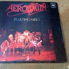 Discos de vinilo: AEROSMITH-EL ULTIMO NIÑO / COMBINACION - SINGLE VINILO SPAIN 1976 - BUEN ESTADO. Lote 169750897