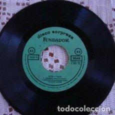 Discos de vinilo: THE CRAZY GUITARS DISCO SORPRESA FUNDADOR ROCK Y TWIST SACA LA BOTELLA EP 1962. Lote 169750956