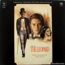 Discos de vinilo: EL GATOPARDO. THE LEOPARD.NINO ROTA. Lote 169760980
