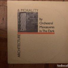 Discos de vinilo: ORCHESTRAL MANOEUVRES IN THE DARK ?– ARCHITECTURE & MORALITY SELLO: VIRGIN ?– 204016, DINDISC ? . Lote 169764284
