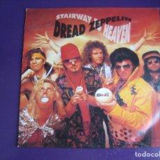 Discos de vinilo: DREAD ZEPPELIN SG IRS 1991 STAIRWAY TO HEAVEN +1 SIN USO - ROCK 90'S. Lote 169769220