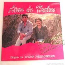 Discos de vinilo: AIRES DE HUELVA - DISCO VINILO LP - DIRIGIDO POR JOAQUÍN PAREJA-OBREGÓN - SEVILLANAS A TRIANA MÚSICA. Lote 169774884