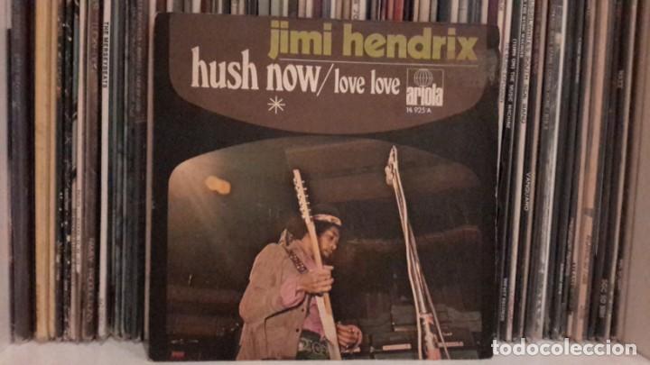 JIMI HENDRIX - HUSH (Música - Discos de Vinilo - EPs - Pop - Rock Extranjero de los 70)