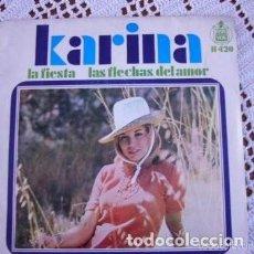 Discos de vinilo: KARINA LA FIESTA / LAS FLECHAS DEL AMOR EP 1968. Lote 169787572