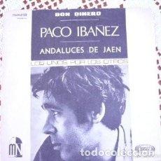 Discos de vinilo: PACO IBÁÑEZ DON DINERO EP 1968. Lote 169788040