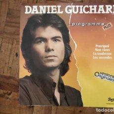 Discos de vinilo: DANIEL GUICHARD ?– PROGRAMME PLUS SELLO: IMPACT (2) ?– 825 082-1 SERIE: PROGRAMME PLUS – 825 082-1. Lote 169797044