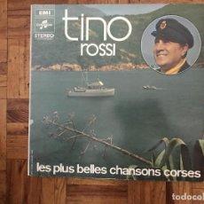 Discos de vinilo: TINO ROSSI ?– LES PLUS BELLES CHANSONS CORSES SELLO: EMI ?– 2 C 064 - 11513, COLUMBIA ?– 2 C 064 - . Lote 169797412