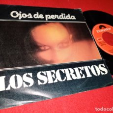 Discos de vinilo: LOS SECRETOS OJOS DE PERDIDA/NO SUPE QUE DECIR 7 SINGLE 1981 POLYDOR MOVIDA POP HERMANOS URQUIJO. Lote 169802444