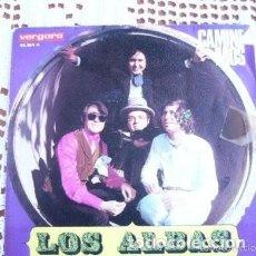 Discos de vinilo: LOS ALBAS CAMINEMOS EP 1970. Lote 169804960