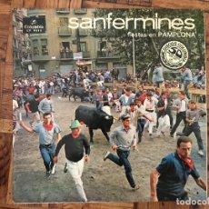 Discos de vinilo: SANFERMINES (FIESTAS DE PAMPLONA) SELLO: COLUMBIA ?– CP. 9015 FORMATO: VINYL, LP, ALBUM, MONO . Lote 169806836