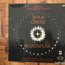 Discos de vinilo: MIKE TROUNCE, MIKE ALLEN (8), MARTIN JAY, JENNY MASON ?– JESUS CHRIST SUPERSTAR (EXCERPTS FROM THE . Lote 169806972