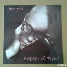 Discos de vinilo: ELTON JOHN -SLEEPING WITH THE PAST - LP PHONOGRAM 1989 ED. ESPAÑOLA 838839-1 MUY BUENAS CONDICIONES.. Lote 169813576