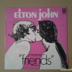 Discos de vinilo: ELTON JOHN -FRIENDS- BANDA SONORA ORIGINAL ABC RECORDS 1976 ED. ESPAÑOLA COPIA PROMOCIONAL TK.3015 M. Lote 169814096