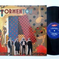 Discos de vinilo: LP: LOS TORMENTOS - GUITARRA Y CARRETERA (JUSTINE RECORDS, 1989) - ROCK & ROLL POST-PRIMAVERA NEGRA. Lote 169815324