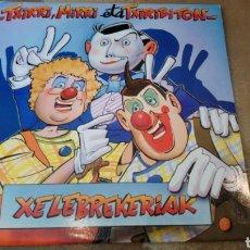 Discos de vinilo: TXIRRI, MIRRI ETA TXIRIBITON- XELEBREKERIAK . LP VINILO PERFECTO ESTADO. Lote 169817320