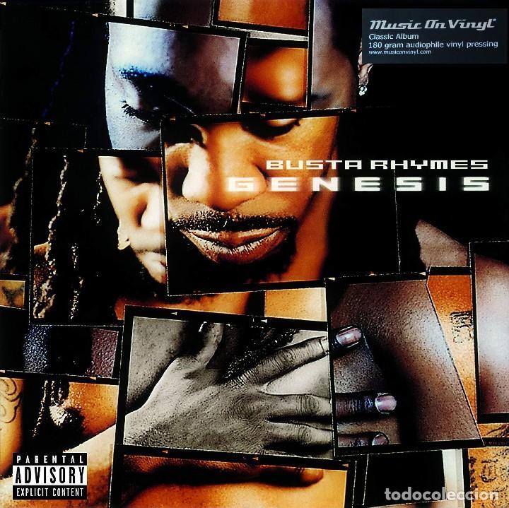 BUSTA RHIMES * GENESIS * 2LP 180G AUDIOPHILE VINYL * INSERT * MUSIC ON VINYL * NUEVO (Música - Discos - LP Vinilo - Rap / Hip Hop)
