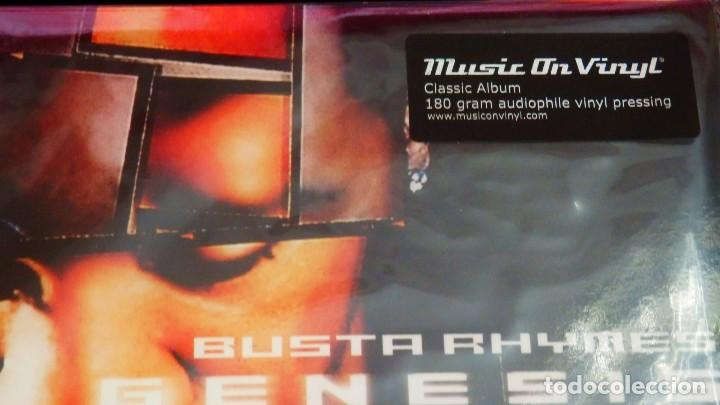 Discos de vinilo: BUSTA RHIMES * GENESIS * 2LP 180g audiophile vinyl * insert * Music on Vinyl * nuevo - Foto 7 - 169824128