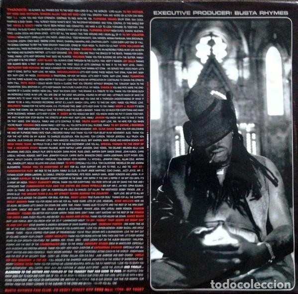 Discos de vinilo: BUSTA RHIMES * GENESIS * 2LP 180g audiophile vinyl * insert * Music on Vinyl * nuevo - Foto 8 - 169824128