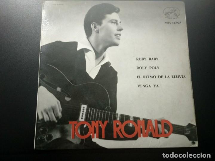 TONY RONALD DISCO EP RUBY BABY + 3 AÑO 1963 LA VOZ DE SU AMO (Música - Discos de Vinilo - EPs - Solistas Españoles de los 50 y 60)