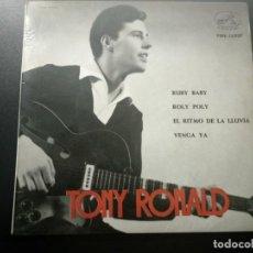 Discos de vinilo: TONY RONALD DISCO EP RUBY BABY + 3 AÑO 1963 LA VOZ DE SU AMO. Lote 169827152